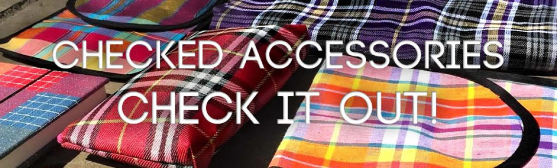 Checked accessories-check it out!