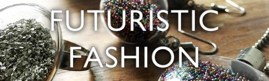 Futuristic fashion jewellery – glittering globes
