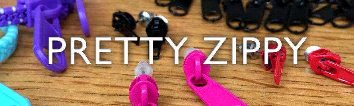 Zipper fashion jewellery accessories. Pretty zippy!