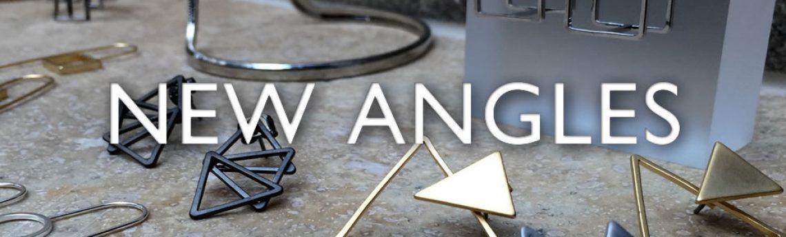 New angles on fashion jewellery. Look sharp!