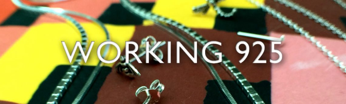 Sterling silver jewellery an essential – working 925
