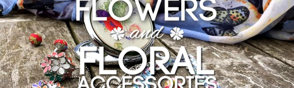 Flowers and floral accessories for a blooming summer