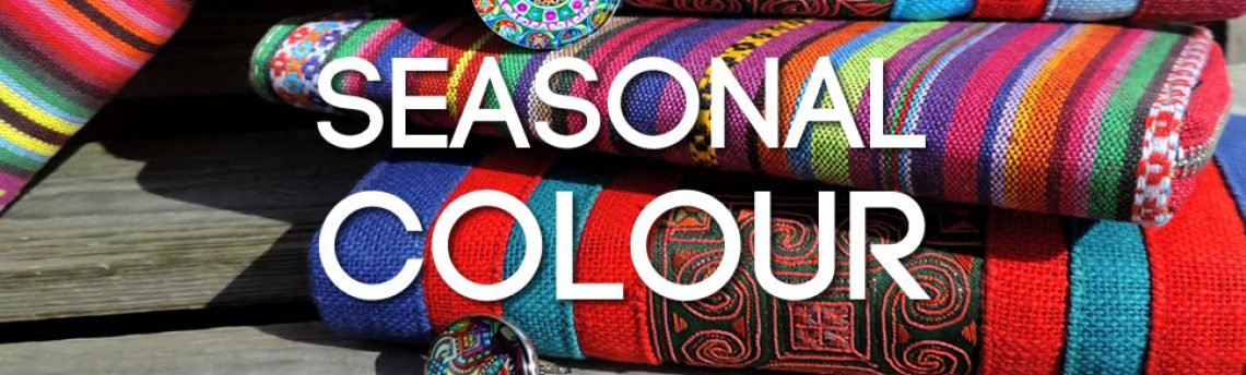 Seasonal Colour – jewellery, accessories and Fall fashion