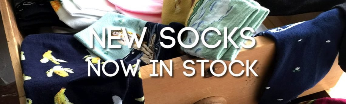 Sock drawer – new socks now in stock