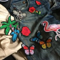 Patch perfection! Embroidered patches,stickers and brooches.