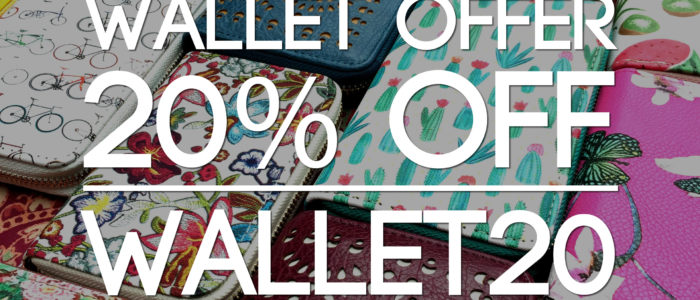 Wallet offer - WALLET20- a wonderful wallet deal