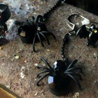 Halloween jewellery - spookily glamorous accessories