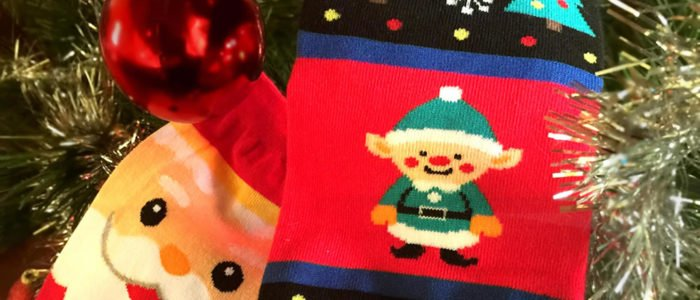 Christmas socks - all the magic of the festive season