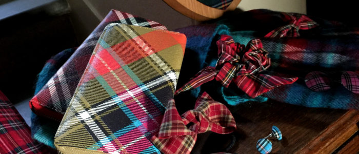 Tartan trending - classic styles for the perfect winter range